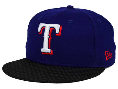 Texas Rangers New Era MLB Wovenrine 59FIFTY Cap