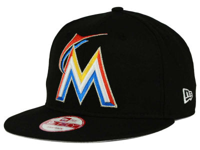 Miami Marlins New Era MLB Biggie 9FIFTY Snapback Cap