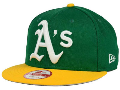 Oakland Athletics New Era MLB Biggie 9FIFTY Snapback Cap