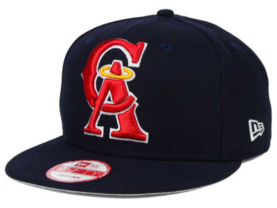 Los Angeles Angels New Era MLB Biggie 9FIFTY Snapback Cap