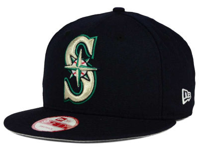 Seattle Mariners New Era MLB Biggie 9FIFTY Snapback Cap