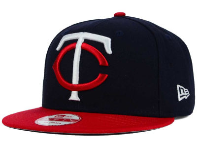 Minnesota Twins New Era MLB Biggie 9FIFTY Snapback Cap