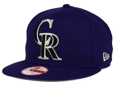 Colorado Rockies New Era MLB Biggie 9FIFTY Snapback Cap