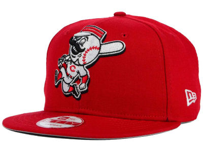 Cincinnati Reds New Era MLB Biggie 9FIFTY Snapback Cap