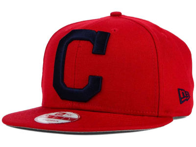 Cleveland Indians New Era MLB Biggie 9FIFTY Snapback Cap
