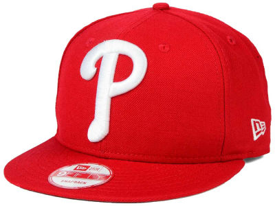 Philadelphia Phillies New Era MLB Biggie 9FIFTY Snapback Cap