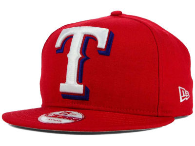 Texas Rangers New Era MLB Biggie 9FIFTY Snapback Cap