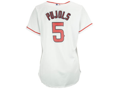 Los Angeles Angels Albert Pujols Majestic MLB Women's Cool Base Player Replica Jersey