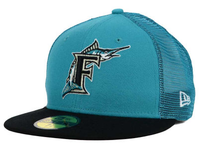 Florida Marlins New Era MLB Mesher 59FIFTY Cap