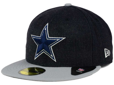 Dallas Cowboys New Era NFL Heather Action 2 Tone 59FIFTY Cap