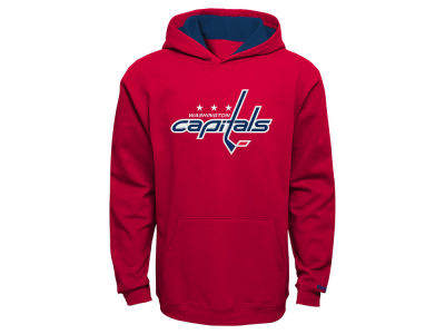 Washington Capitals Reebok NHL Youth Prime Logo Hoodie