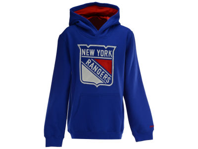 New York Rangers Reebok NHL Youth Prime Hoodie