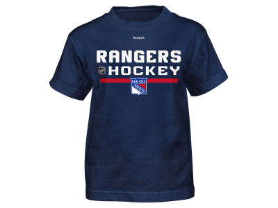 New York Rangers Reebok NHL Youth Center Ice Authentic Freeze T-Shirt