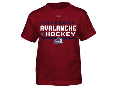 Colorado Avalanche Reebok NHL Youth Center Ice Authentic Freeze T-Shirt