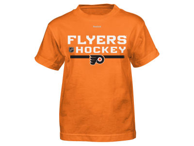Philadelphia Flyers Reebok NHL Youth Center Ice Authentic Freeze T-Shirt