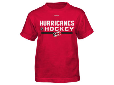 Carolina Hurricanes Reebok NHL Youth Center Ice Authentic Freeze T-Shirt