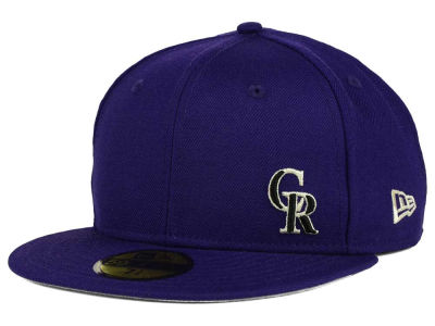 Colorado Rockies New Era MLB Smalls 59FIFTY Cap
