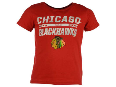 Chicago Blackhawks Reebok NHL Toddler Iced Over T-Shirt
