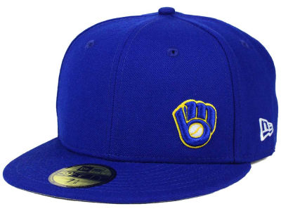 Milwaukee Brewers New Era MLB Smalls 59FIFTY Cap