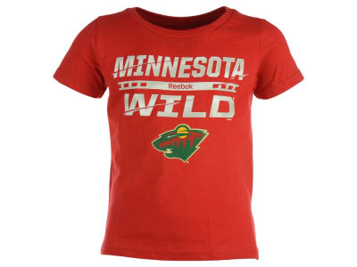 Minnesota Wild Reebok NHL Toddler Iced Over T-Shirt