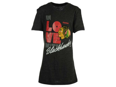 Chicago Blackhawks Reebok NHL Youth Girls Pave T-Shirt 2015