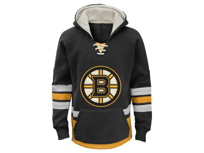 Boston Bruins NHL Youth Retro Skate Hoodie