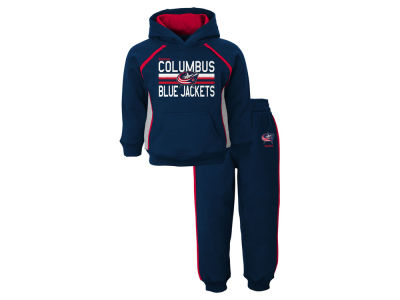 Columbus Blue Jackets NHL Infant Classic Fan Fleece Set