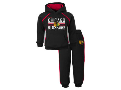 Chicago Blackhawks NHL Toddler Classic Fan Fleece Set