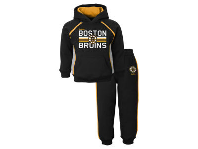 Boston Bruins NHL Toddler Classic Fan Fleece Set