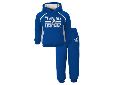 Tampa Bay Lightning NHL Toddler Classic Fan Fleece Set