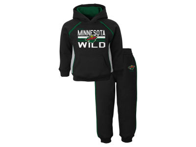 Minnesota Wild NHL Toddler Classic Fan Fleece Set
