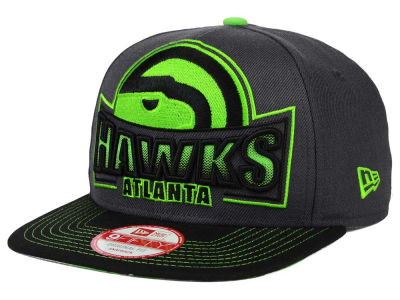 Atlanta Hawks New Era NBA HWC Grader 9FIFTY Snapback Cap