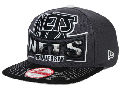 New Jersey Nets New Era NBA HWC Grader 9FIFTY Snapback Cap