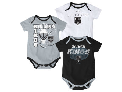 Los Angeles Kings NHL Newborn 3 Part Spread Creeper Set