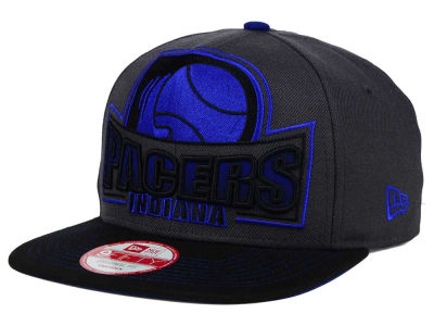 Indiana Pacers New Era NBA HWC Grader 9FIFTY Snapback Cap