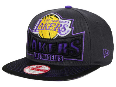 Los Angeles Lakers New Era NBA HWC Grader 9FIFTY Snapback Cap