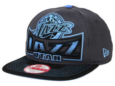 Utah Jazz New Era NBA HWC Grader 9FIFTY Snapback Cap