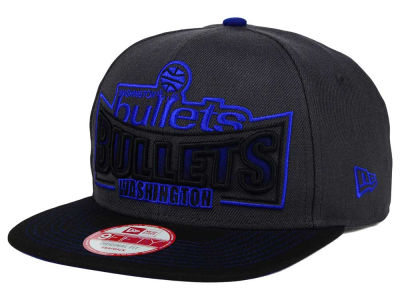 Washington Bullets New Era NBA HWC Grader 9FIFTY Snapback Cap