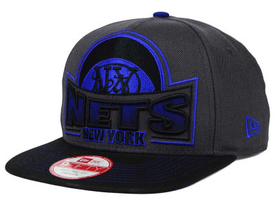 New York Nets New Era NBA HWC Grader 9FIFTY Snapback Cap