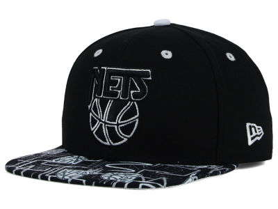 New Jersey Nets New Era NBA HWC Tag It 9FIFTY Snapback Cap