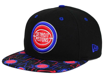 Detroit Pistons New Era NBA HWC Tag It 9FIFTY Snapback Cap