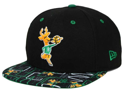 Milwaukee Bucks New Era NBA HWC Tag It 9FIFTY Snapback Cap