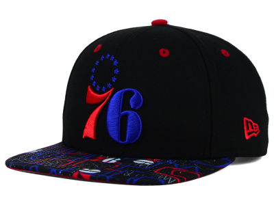 Philadelphia 76ers New Era NBA HWC Tag It 9FIFTY Snapback Cap