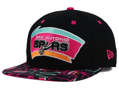San Antonio Spurs New Era NBA HWC Tag It 9FIFTY Snapback Cap