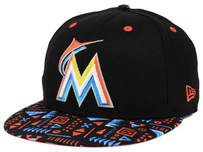 Miami Marlins New Era MLB Geo 59FIFTY Cap