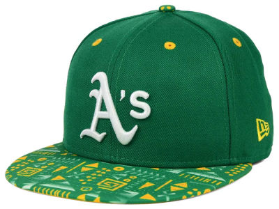 Oakland Athletics New Era MLB Geo 59FIFTY Cap