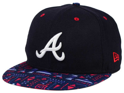 Atlanta Braves New Era MLB Geo 59FIFTY Cap
