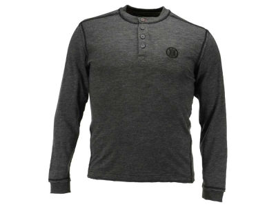 Boston Bruins NHL Men's Crush Henley Long Sleeve T-Shirt