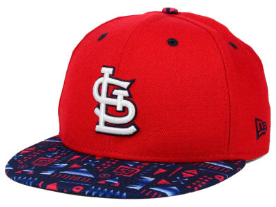 St. Louis Cardinals New Era MLB Geo 59FIFTY Cap