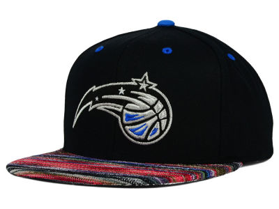 Orlando Magic Mitchell and Ness NBA Space Knit Team Color Snapback Cap